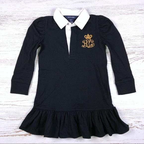 3727574a4 Ralph Lauren Dresses   Polo Dress Girls 4t Ruffle Collar   Poshmark